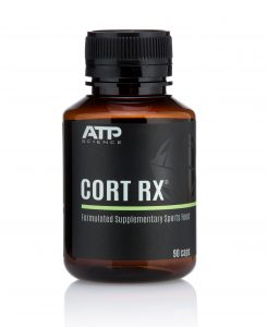 ATP Science's Adrenal Cortex Support supplement CORT RX may help your body better cope with the symptoms of stress and may help reduce anxiety.